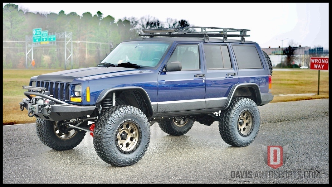 Check Out this Awesome Restored Cherokee XJ. Another Custom Build that never made it to the market. View More pics by Clicking