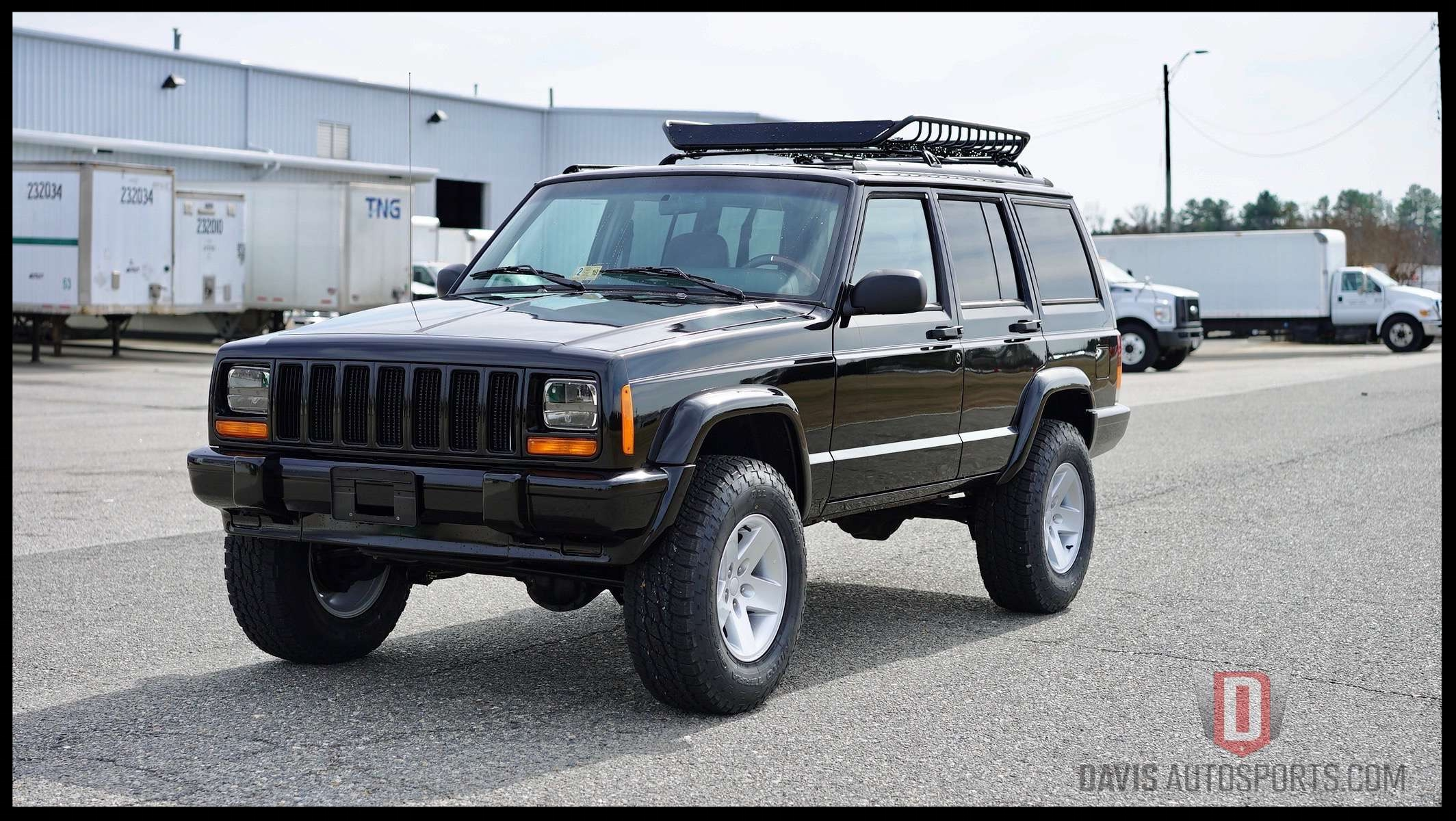 Another DAS Custom Stage 2 XJ that never hit the market for sale. Custom Built Per Customers Request.