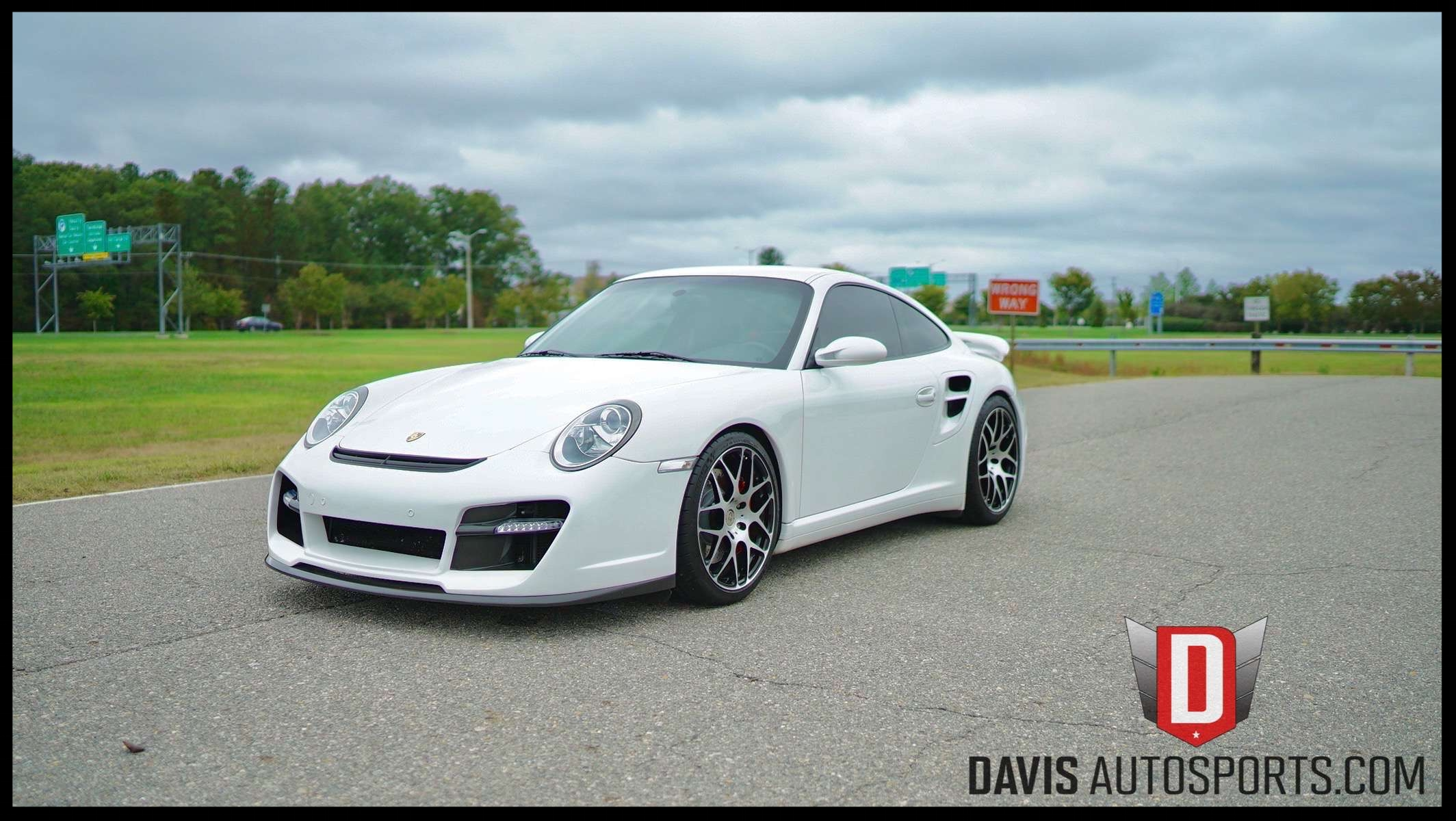 Porsche 911 997 Turbo HRE Wheels