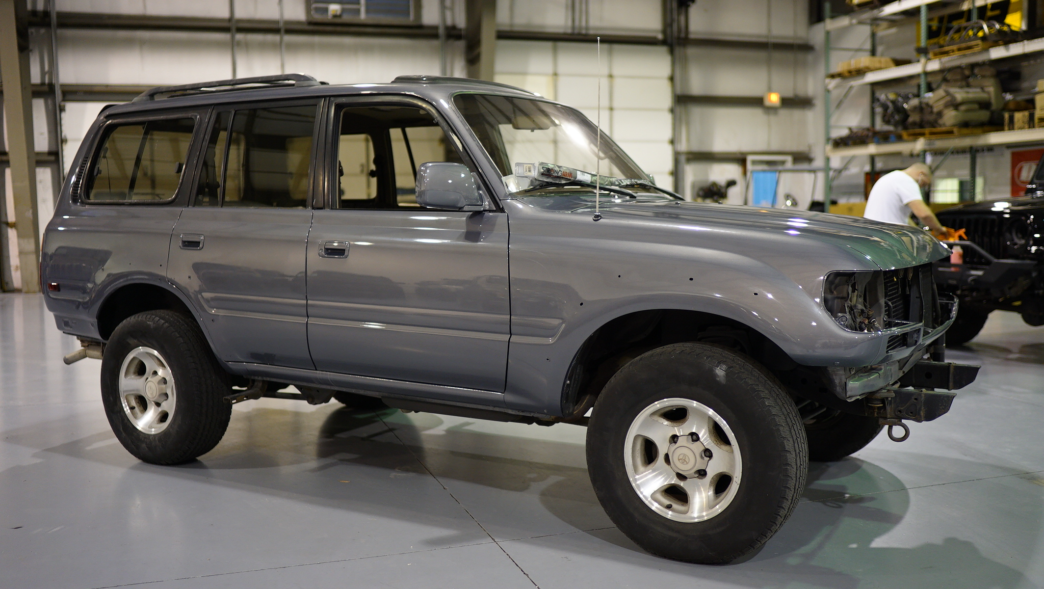 Land Cruiser Restoration >> 1996 Restored Land Cruiser Das Davis Autosports