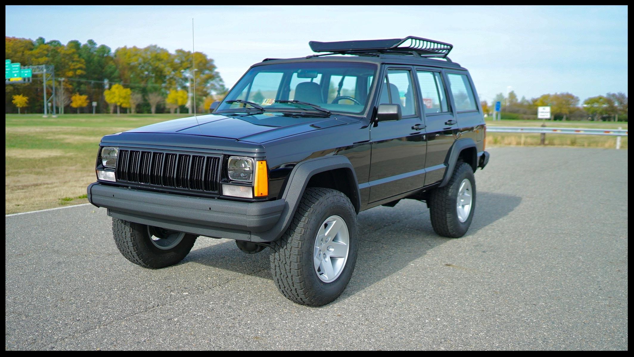 1996 lifted Cherokee XJ Sport