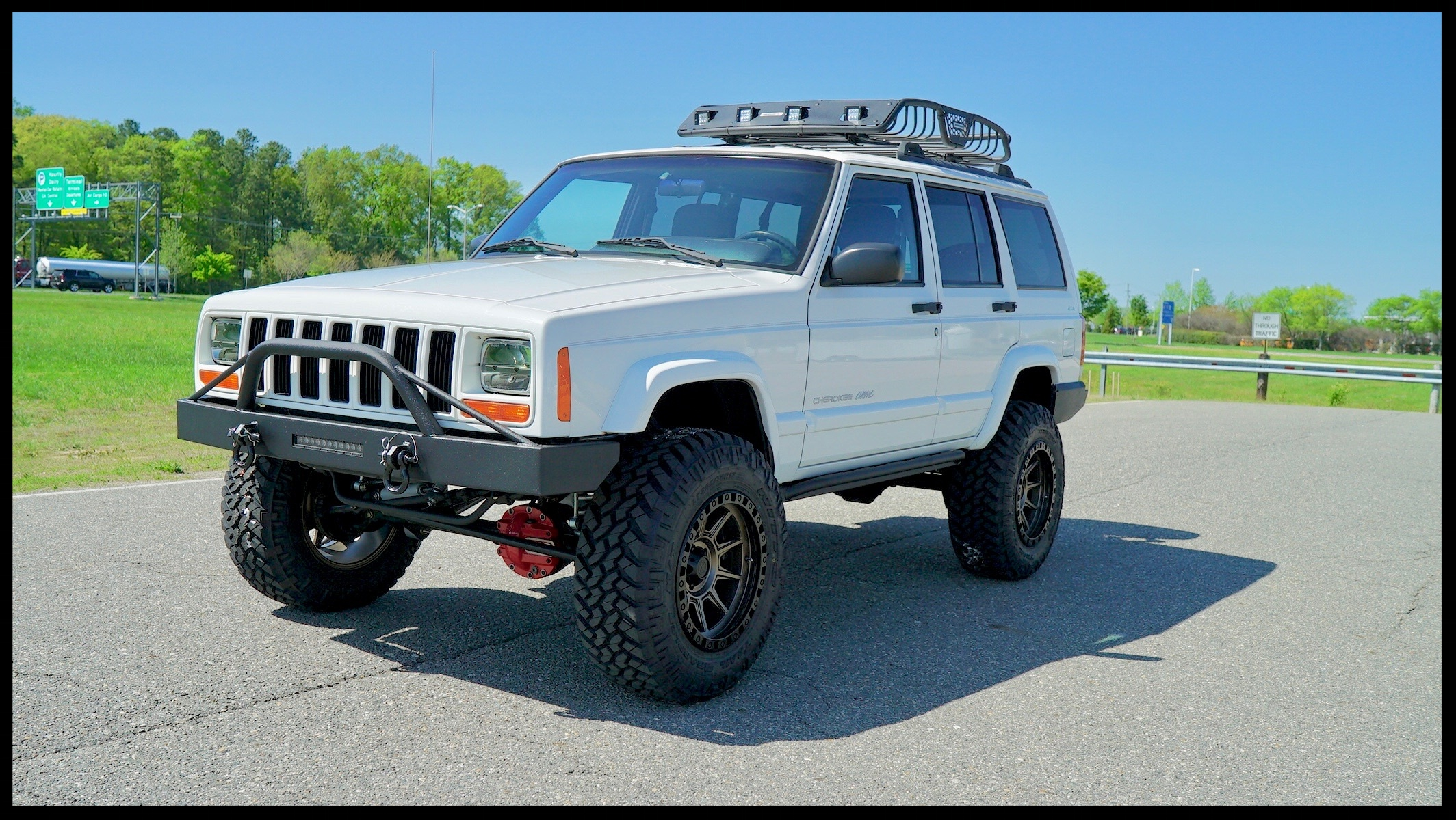 lifted jeep cherokee xj lifted