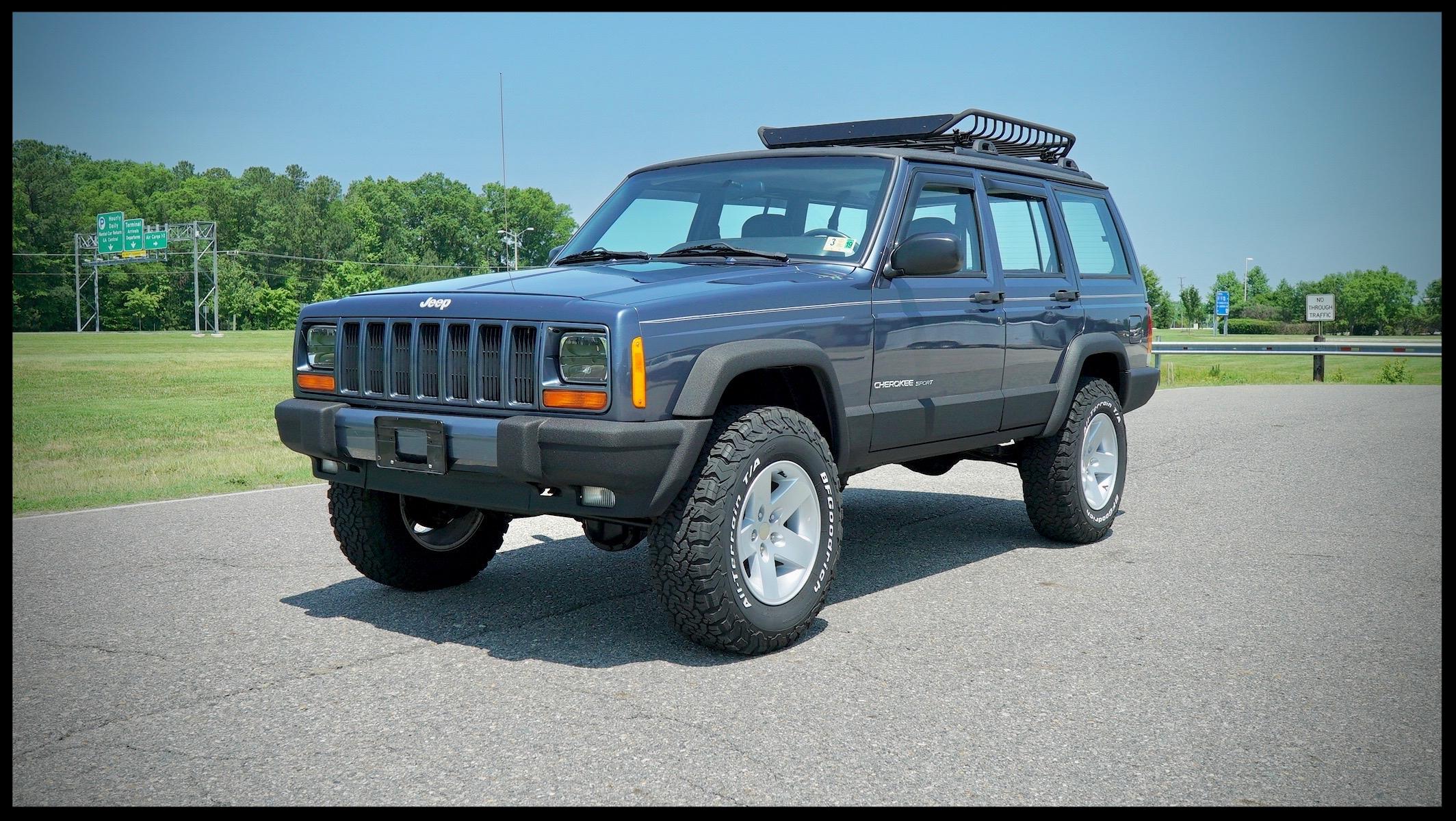 jeep cherokee xj sport lifted