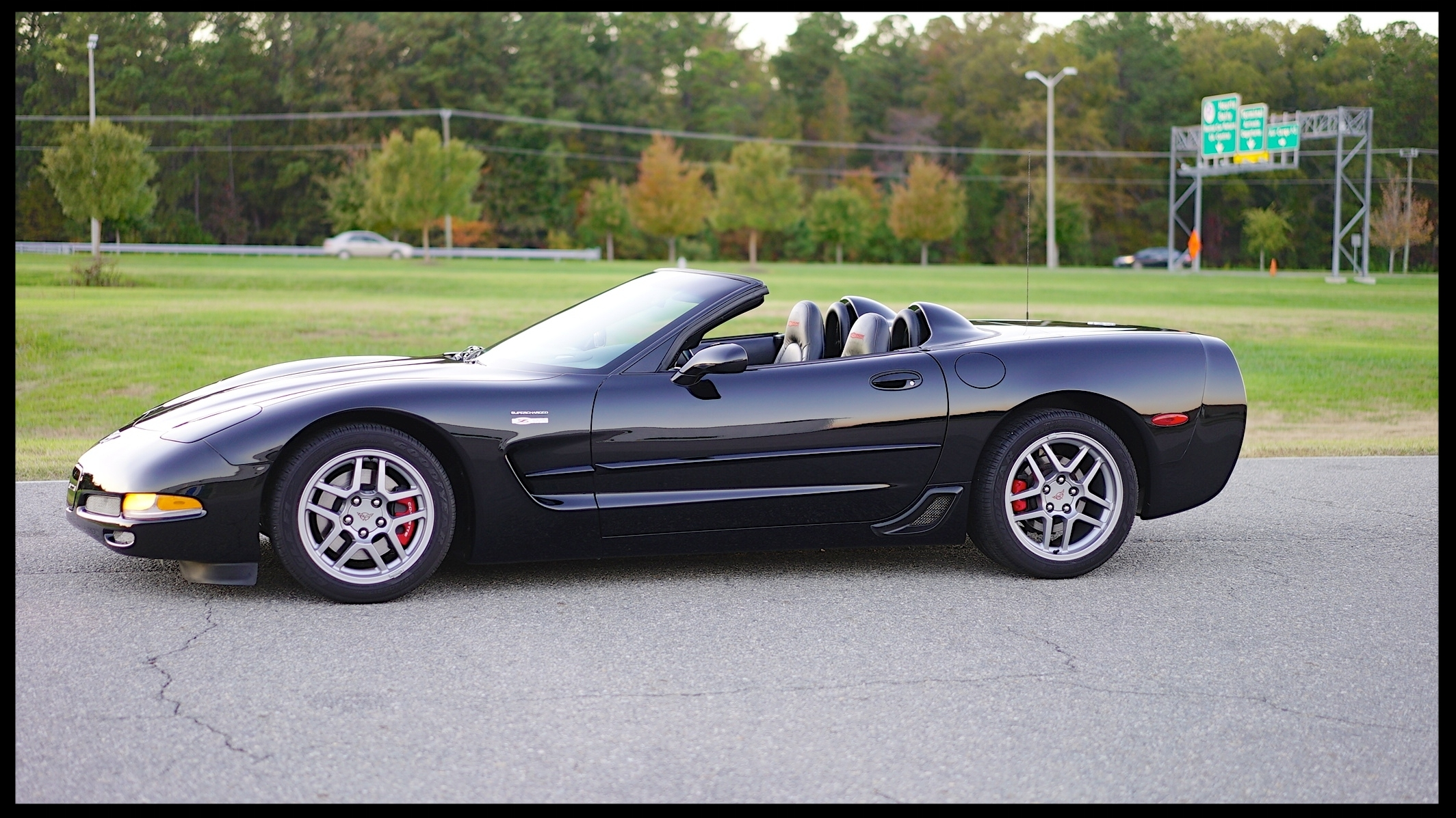 Very Rare 1 of 1 Factory Z06 with Hardtop and Softop Convertible conversion. ProCharger SuperCharger and More...ONLY 5K Miles