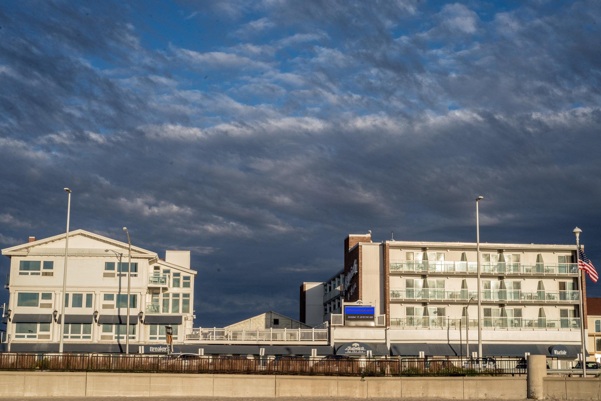 Ashworth Hotel - Ashworth by the Sea - Hampton Beach, New Hampshire by Caitlyn Lunsford Photography