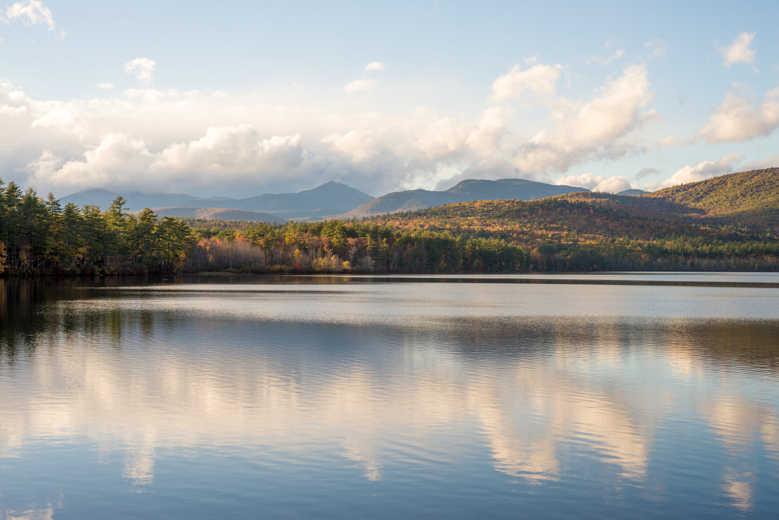Chocorua Lake reflection in New Hampshire - Caitlyn Lunsford Photography