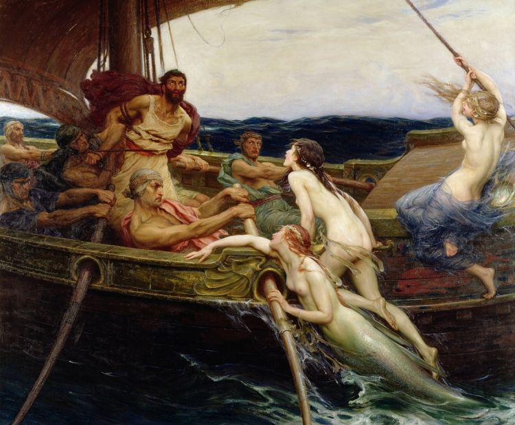 Draper Herbert James, Ulysses and the Sirens