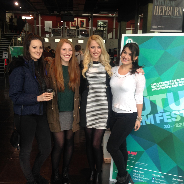 Kerenza Qayum, Hannah Bury, Caris Rianne and Eva Crawford.