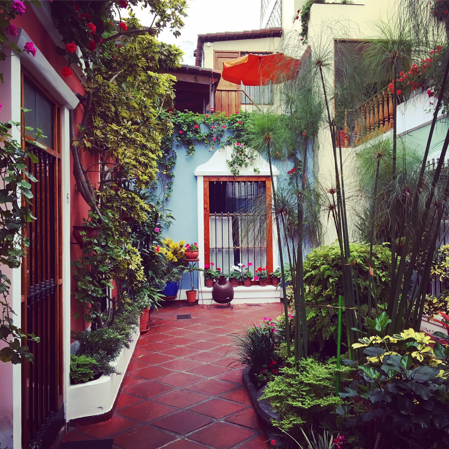 El Patio, my favorite hotel in Lima!