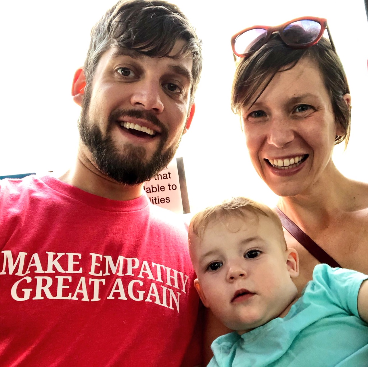 Woo-hoo! Here we are as a family protesting against white supremacy last Sunday in DC. Self-care has helped in both becoming parents and upping our game as politically activated human beings over this past year. Both activities have been been hugely rewarding and require a lot of self-care replenishment to stay vital and connected.