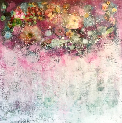 Pink Raining Petals