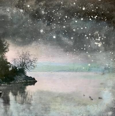 Starry Night Series - Lake Promenade I