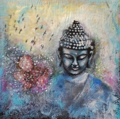 Baby's Breath Buddha