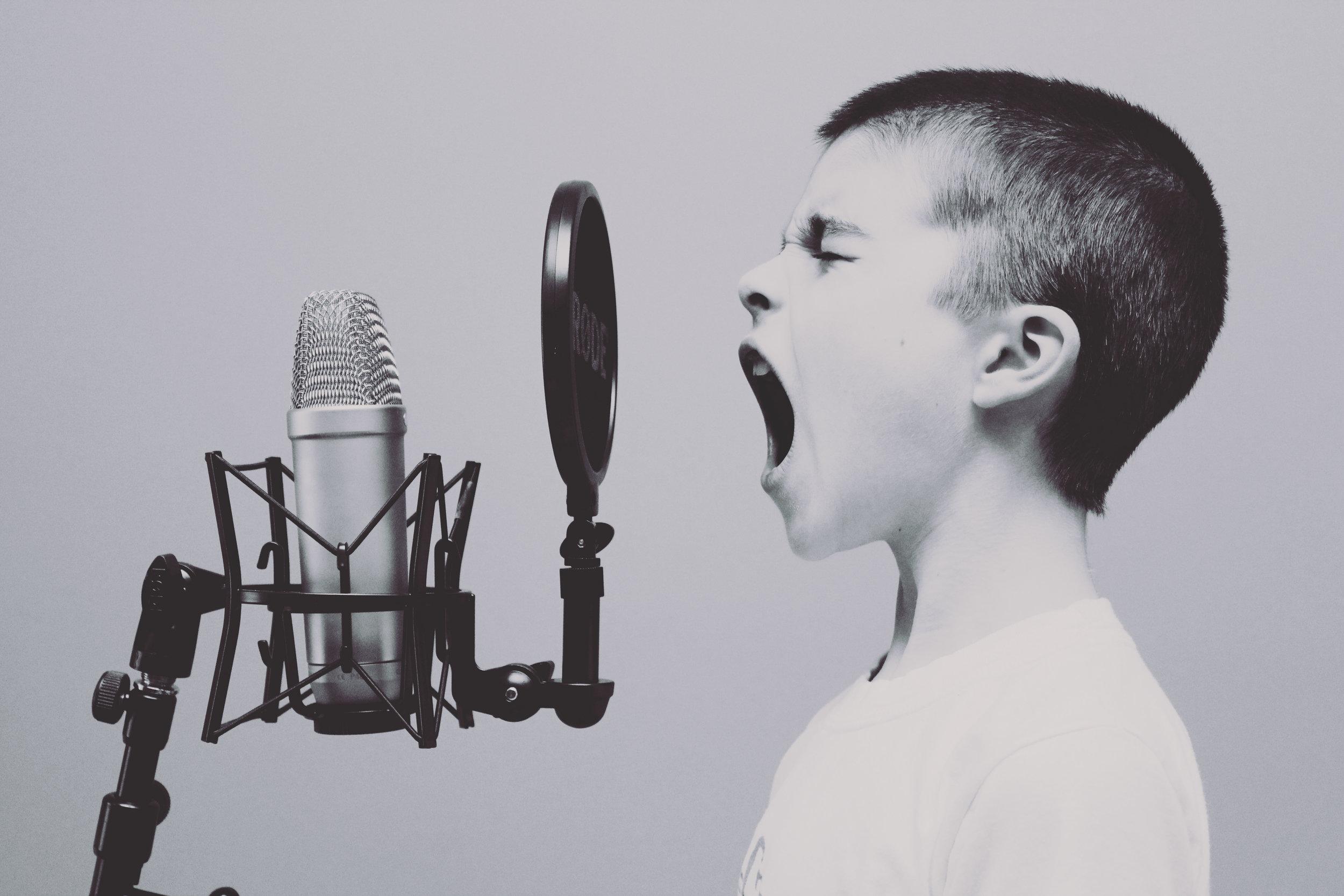 Bliver du hørt eller set? Det kan være svært… Foto: Unsplash.