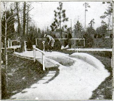 The origins of miniature golf at Thistle Dhu