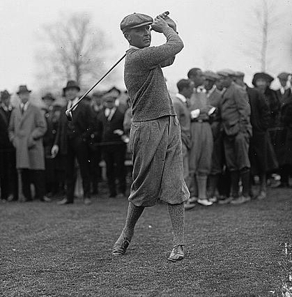 The first great golf trick shot artist - Joe Kirkwood - honed his skills in the Australian Outback. He was a unanimous choice for the American Golf Hall of Fame.