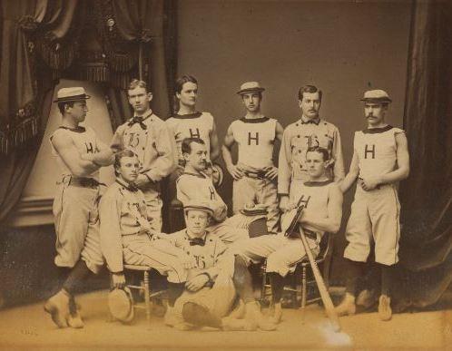 The Harvard nine that gave the Myopia Hunt Club its name - sans eyeglasses.