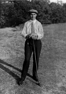 Walter Hagen was a golfing unknown when he showed up for the 1913 U.S. Open in Brookline.