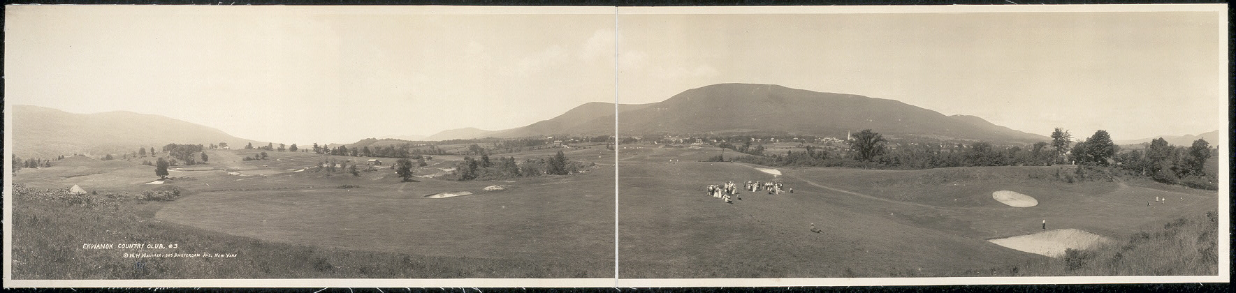 Ekwanok was the first 18-hole American golf course that could stand comparison to the classic British links.