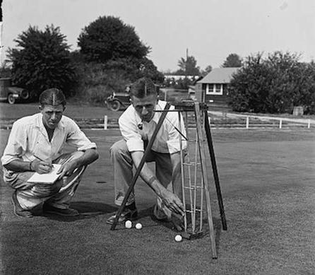 Golf engineers tried many experiments to measure green speed before settling on the simple Stimpmeter.