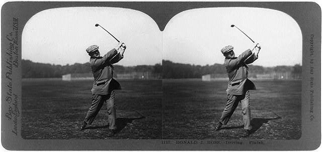 Donald Ross was a golfer before he turned into an architect at Pinehurst.