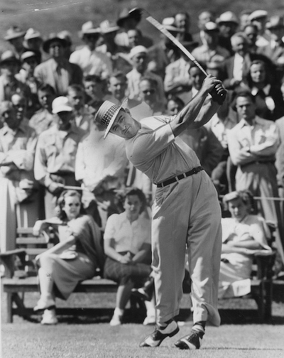 The ageless swing of Sam Snead produced a 59 at The Greenbrier.