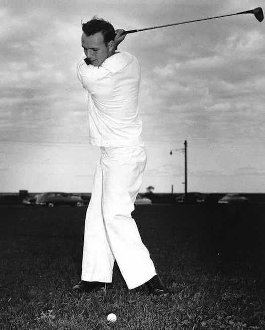 After leaving Latrobe Arnold Palmer signed on with the Coast Guard but he did not spend all his time on the water.
