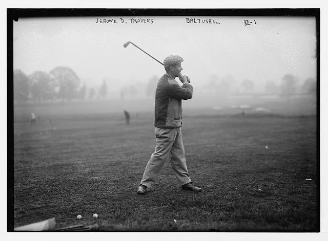 Amateur Jerome Travers won the 1915 U.S. Open at Baltustrol and never entered the tournament again .