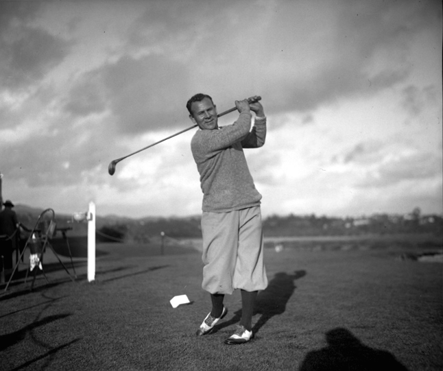 Al Espinosa watched Bobby Jones make a wickedly difficult putt on the 72nd hole to tie him for the 1929 U.S. Open - and then lost by 23 strokes in the playoff. Espinosa did win the first four Mexican Opens after the tournament began in 1944.