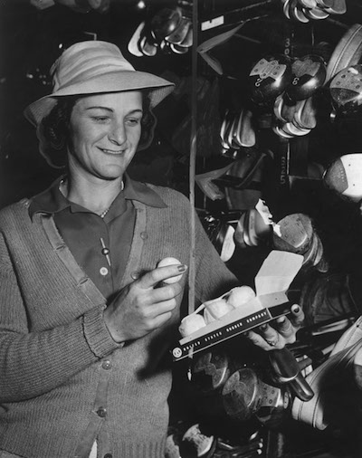 Shortly after discovering golf Babe Didrickson became one of the greatest players ever.