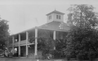 The Berckman home became the Augusta National clubhouse.