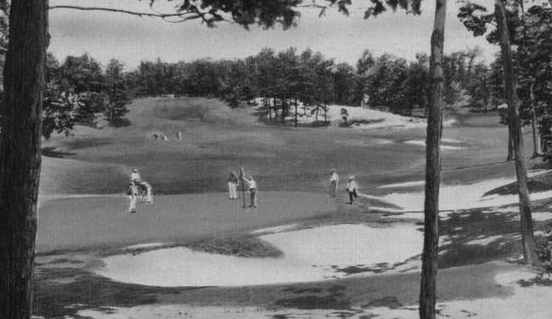 With five courses Bethpage is the largest golfing facility in America.
