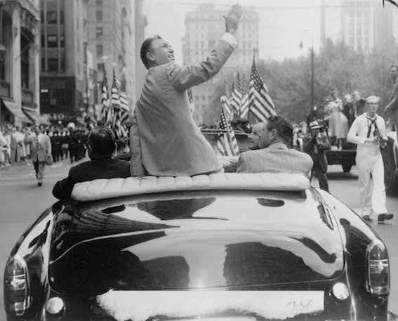 They used to hold parades for golf champions like Ben Hogan.