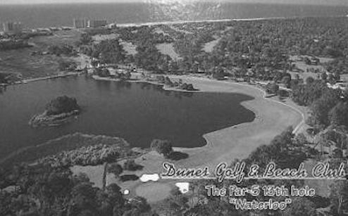 """The 13th, nicknamed """"Waterloo,"""" at the Dunes Club became the signature hole of the entire Grand Strand."""