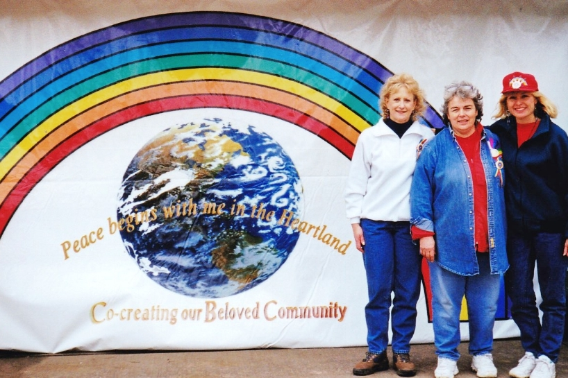 Peace Begins with Me in the Heartland ~ 1998Carol Rydell, Mary K Barge, Toby Evans -