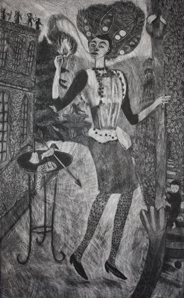 St. Brigid (The Magician)