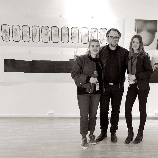 My exibition and my daughters
