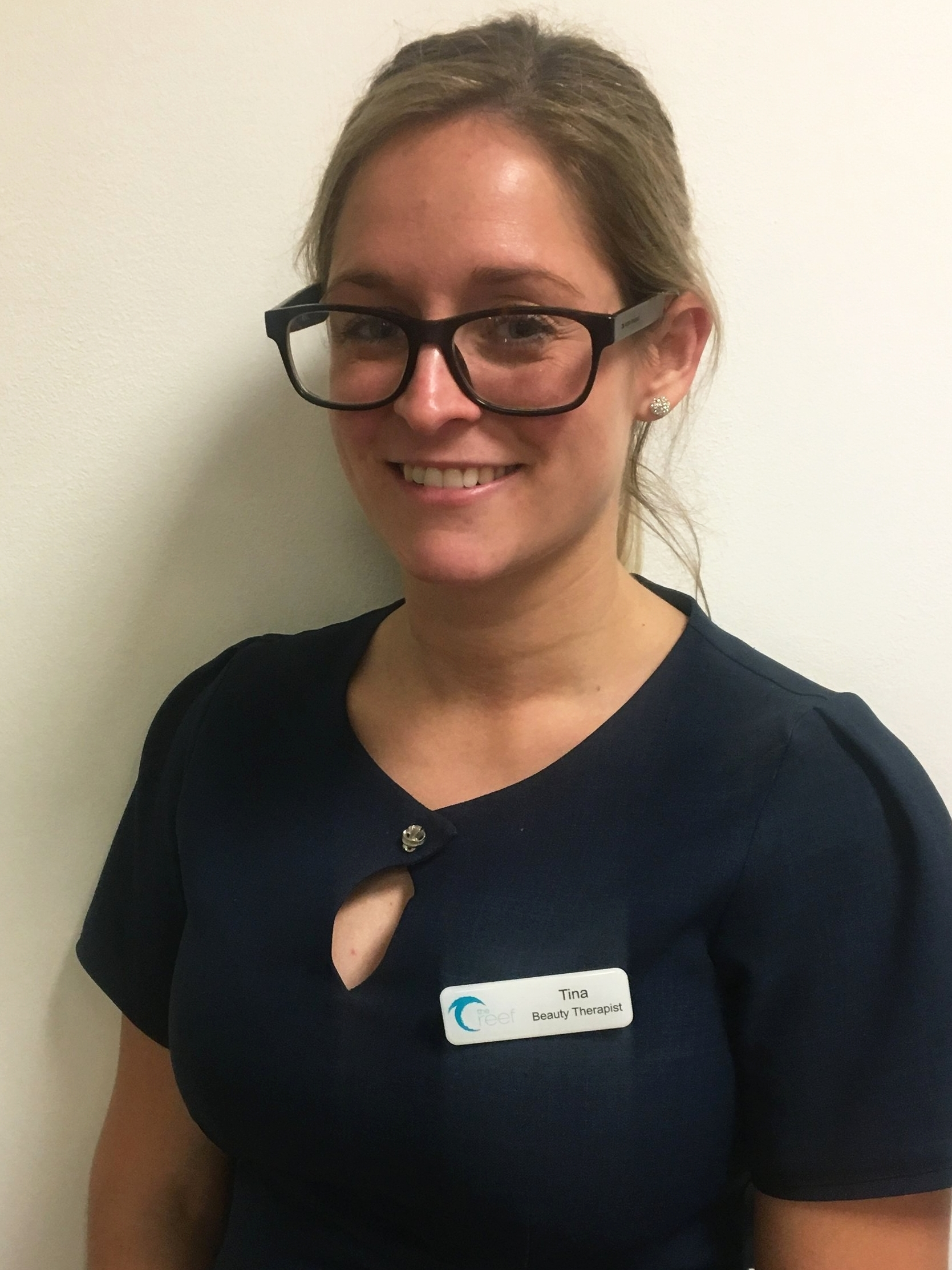Tina, Beauty Therapist - Tina is happy, considerate and a complete perfectionist. After having a career change, Tina came back to her true passion, which is beauty.Tina is also our CACI facial specialist.An excellent therapist who specialises in massage and facials.