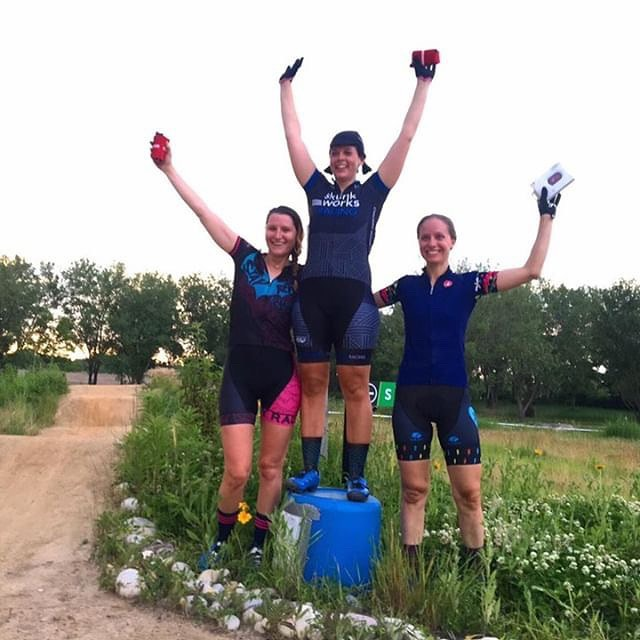 Much fun was had at the only mtb racing you'll find with a Chicago zip code at @bigmarshchicago. @bekasaurus took the W in the A&B races. Come out on July 10 for the next one! . . . #bigmarshchicago #womenwhoshred #shorttrack #mtb #mtbwomen #chicagoracing #chicagomtb