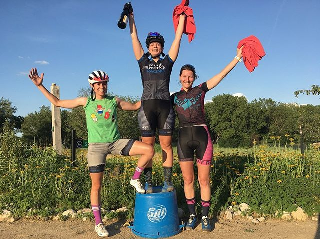 Solid (and SCORCHING hot) #shorttrack race at Big Marsh last night. Becky took home the top step for both the As and Bs, with Lindsay and Kristina trading places for 2nd and 3rd in the heats.
