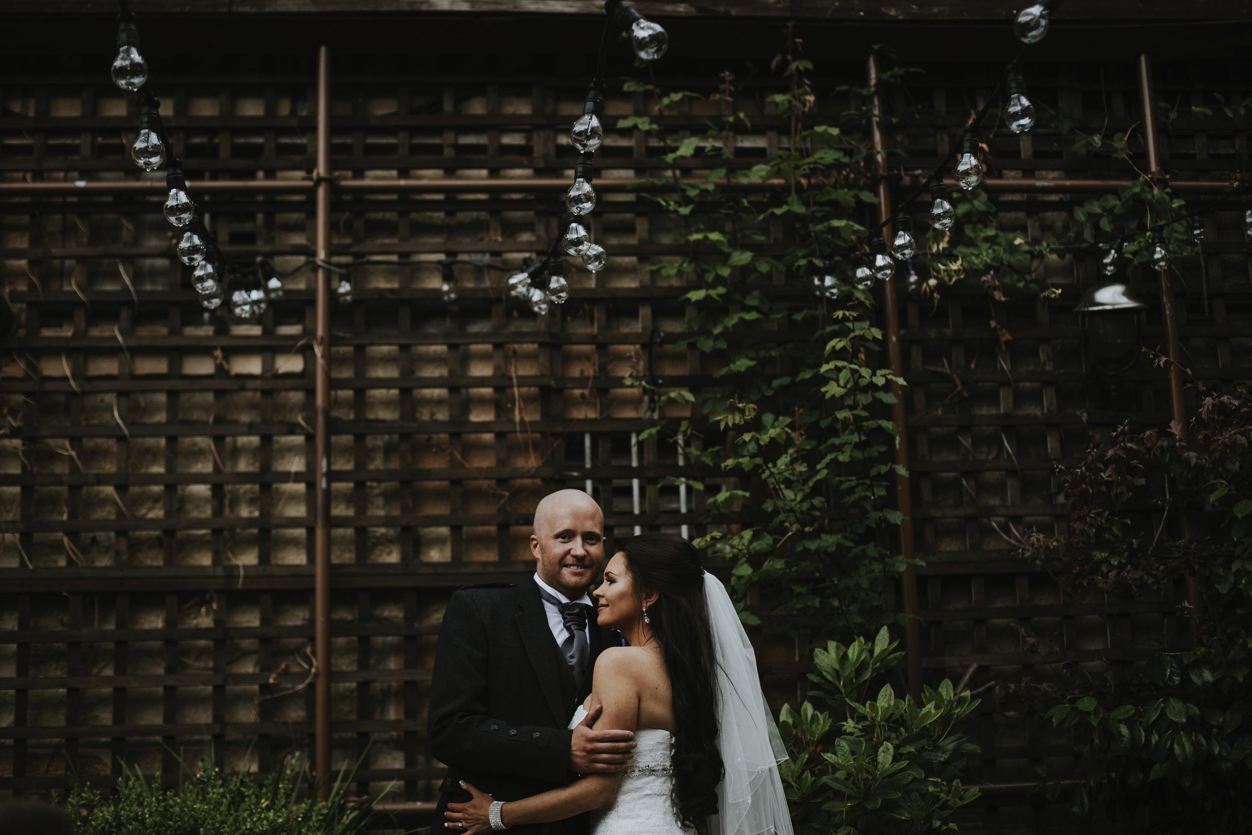 hotel du vin glasgow wedding photographer
