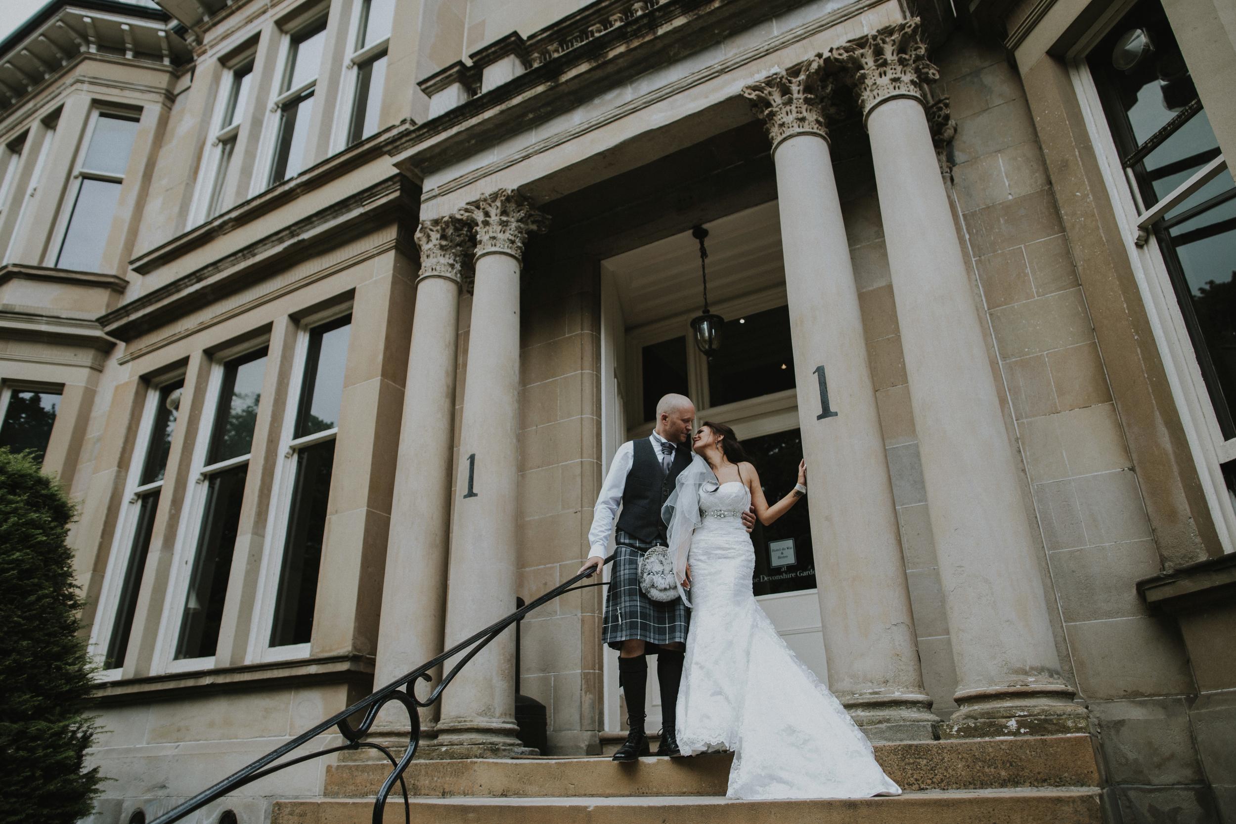 west end glasgow wedding photographer
