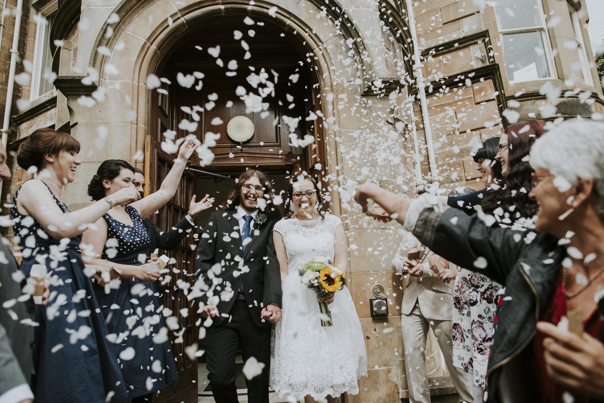 Eastwood House Glasgow wedding