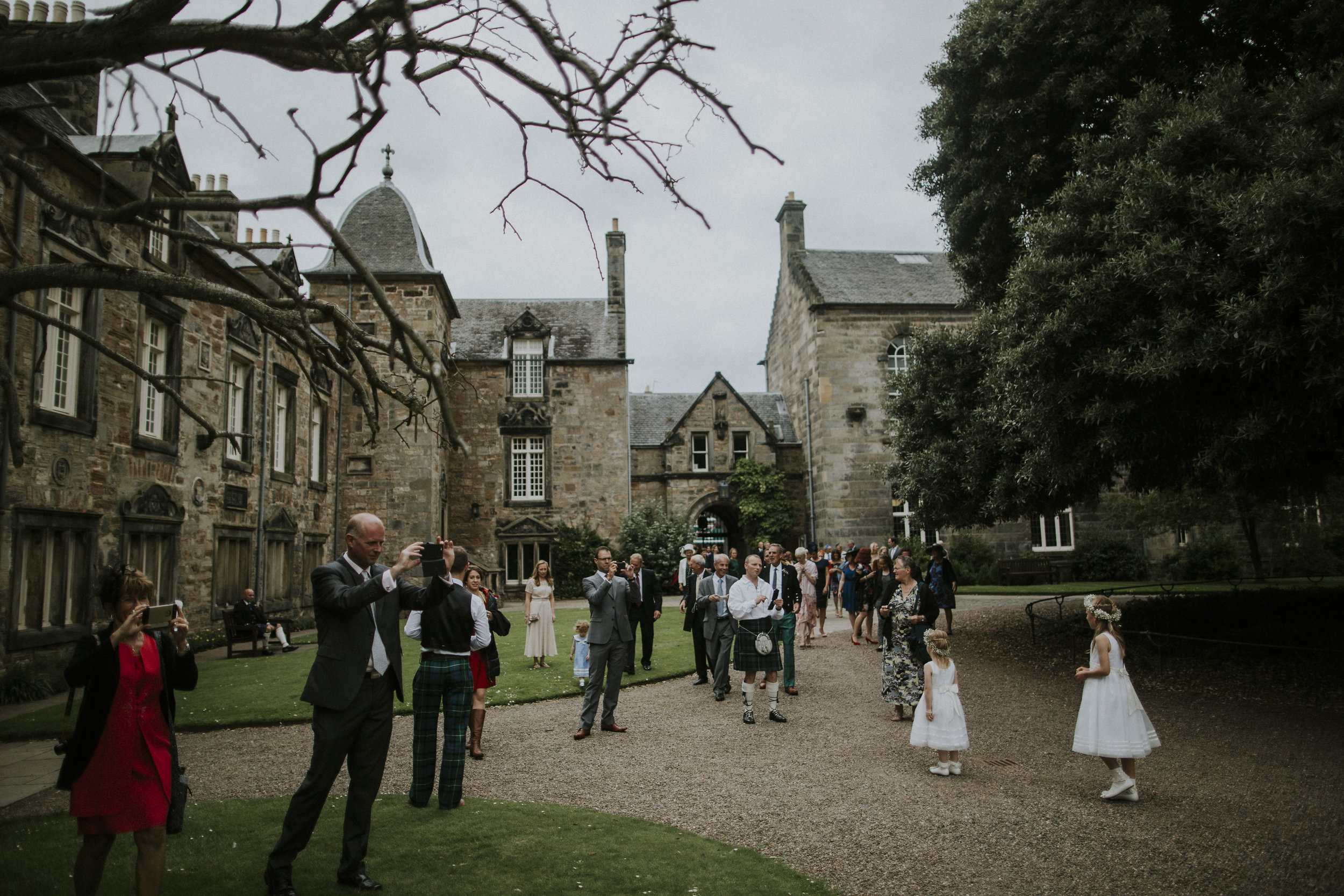 st andrews university wedding photographer