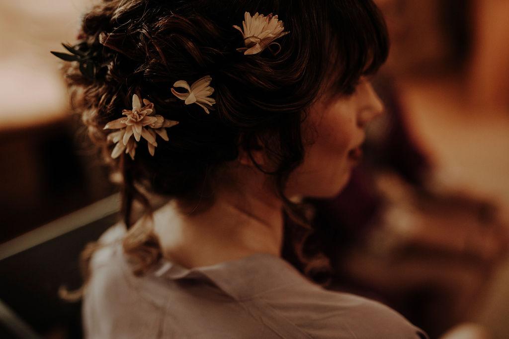 Bridal hairup Glasgow