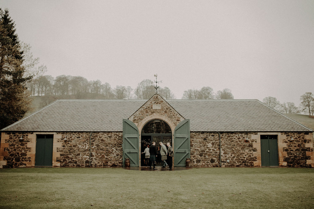 Byre at Inchyra wedding cost