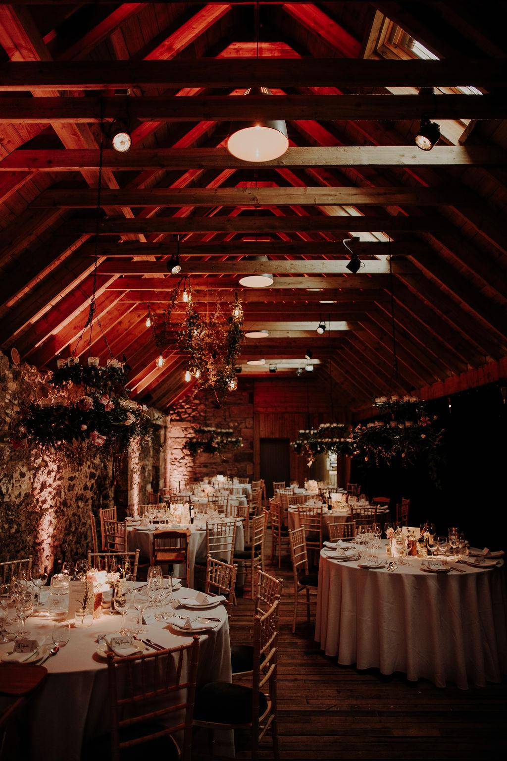 Byre at Inchyra wedding prices