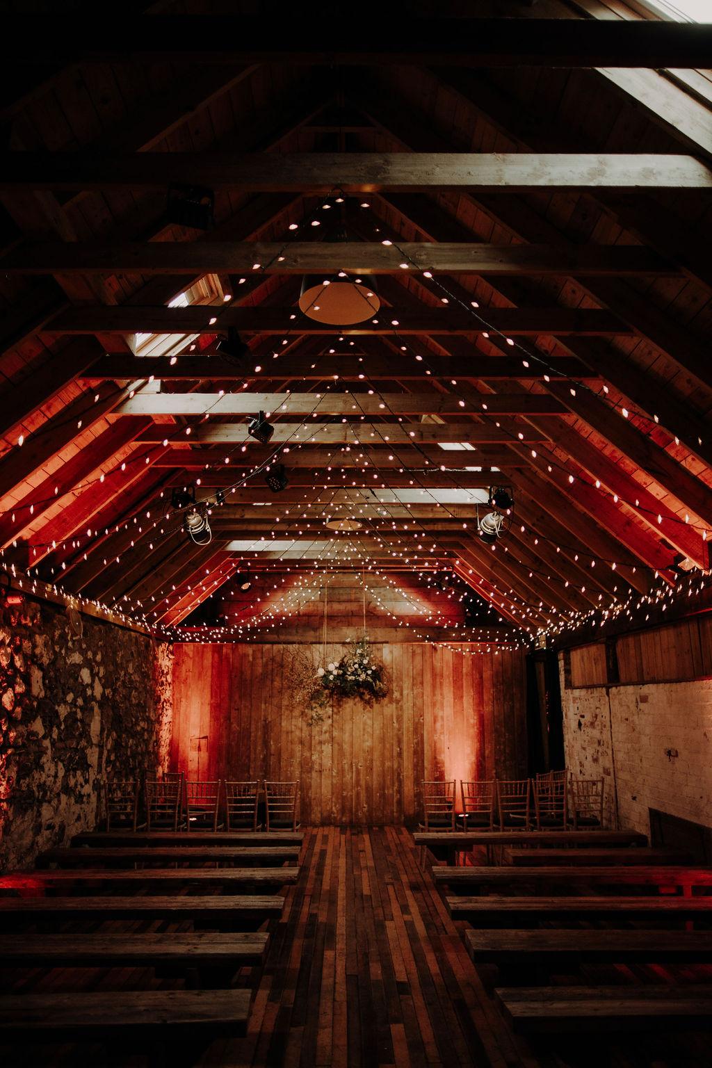 Byre at Inchyra wedding venue