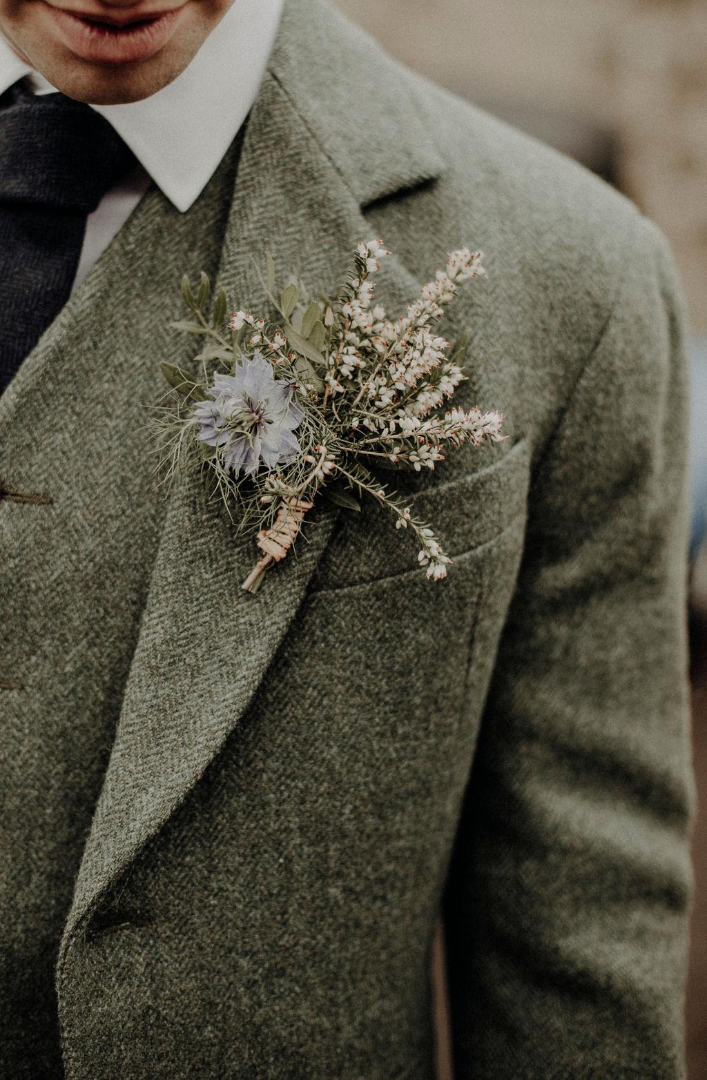 Buttonhole wedding Scotland