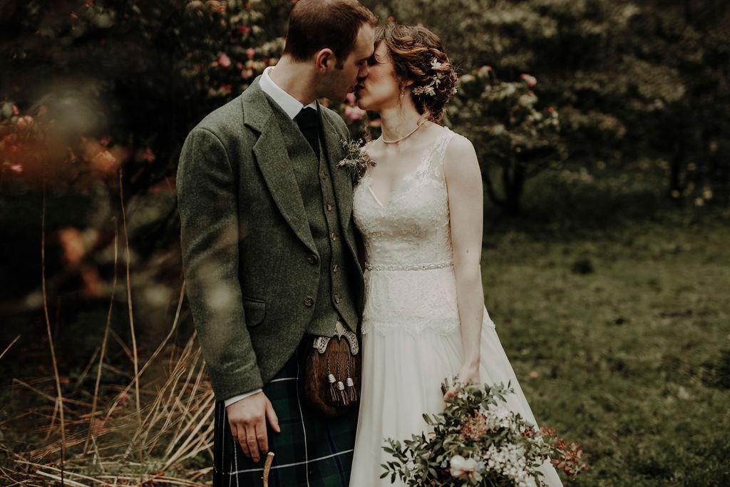 The best wedding photo Scotland